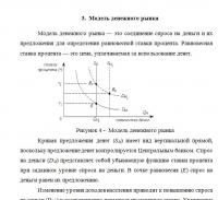Контрольная работа по макроэкономике